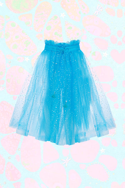 Tulle Skirt with Iridescent Stars