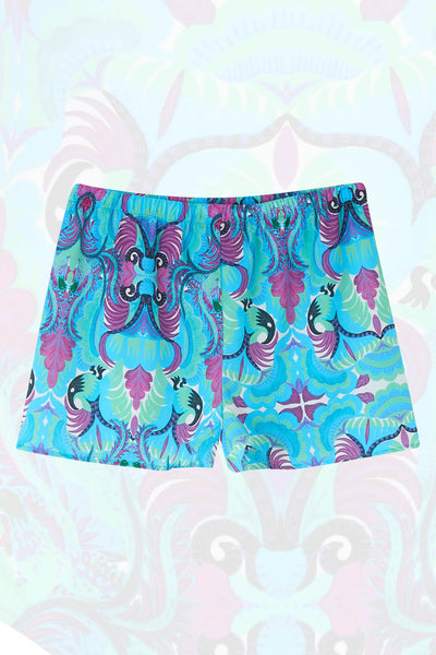 Tribal Tales Blue Lounge Shorts