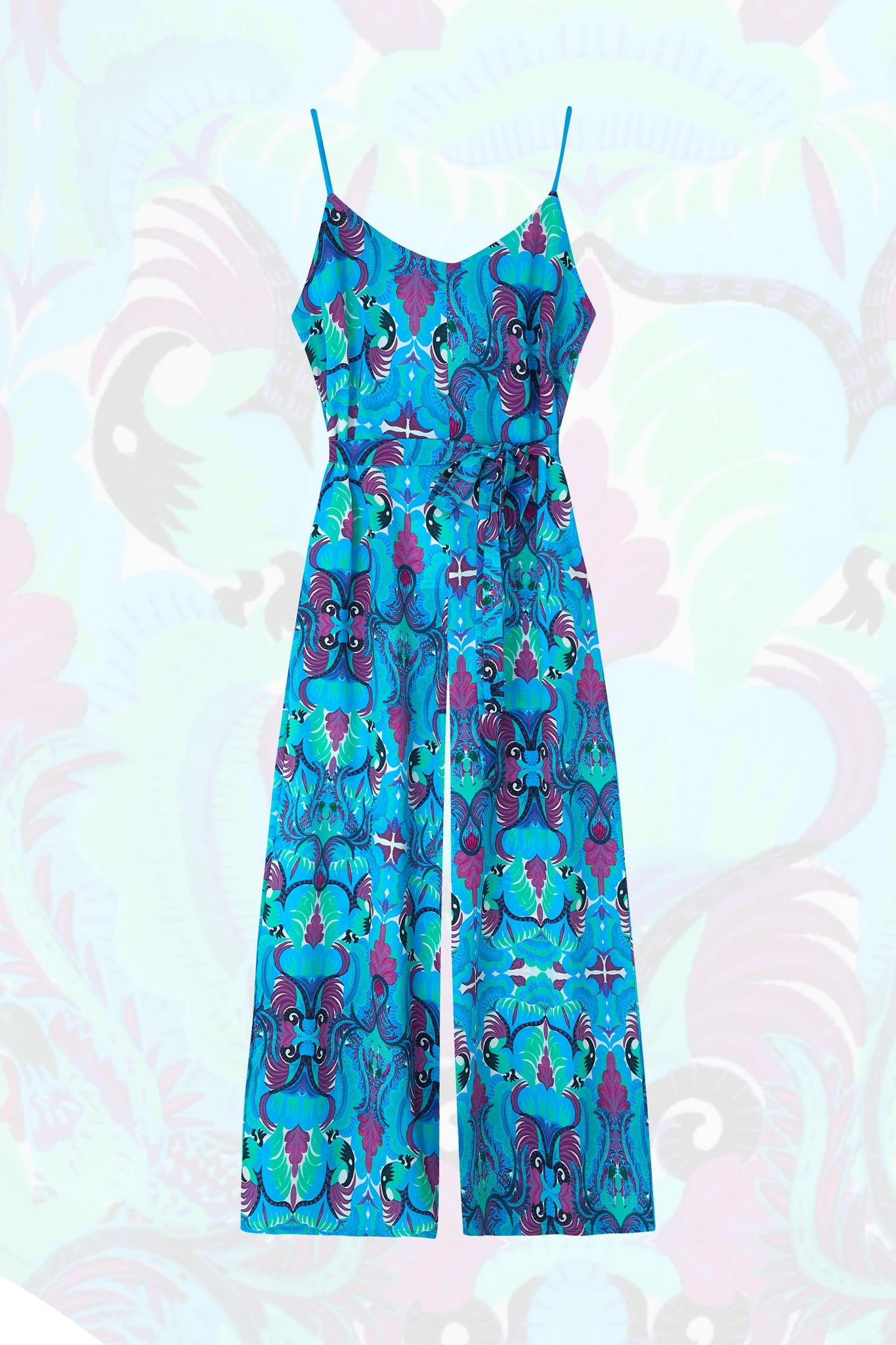 Tribal Tales Oversized Jumpsuit