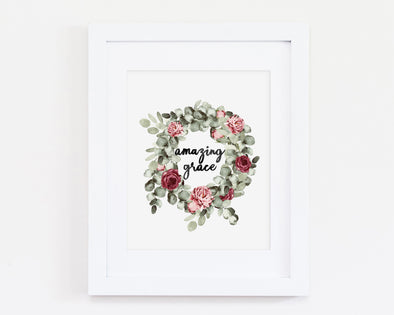 Christian Gifts | Christian Wall Art | Amazing Grace | [theme] | [occasion]  | [colour] |