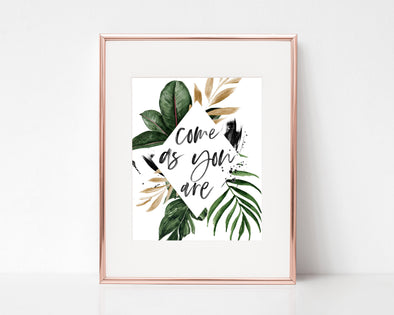 Christian Wall Art | Christian Gifts | Come As You Are