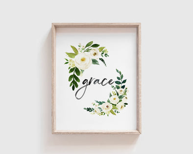Christian Gifts | Christian Wall Art | Grace | [theme] | [occasion]  | [colour] |