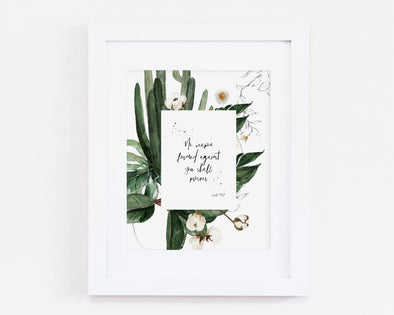 Christian Gifts | Christian Wall Art | Isaiah 54:17 | [theme] | [occasion]  | [colour] |