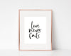 Christian Gifts | Christian Wall Art | Love Never Fails | [theme] | [occasion]  | [colour] |