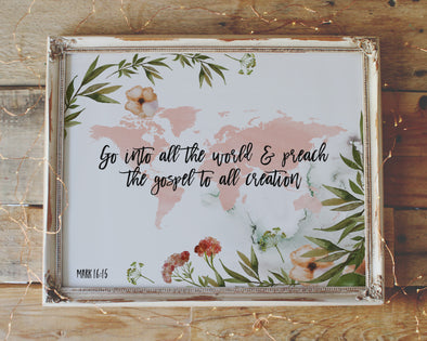 christian wall art | christian gifts | bible verse prints | scripture art | wondrous works
