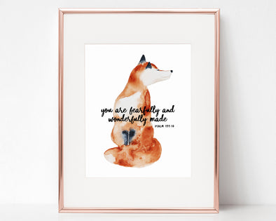 Christian Gifts | Christian Wall Art | Psalm 139:14 | [theme] | [occasion]  | [colour] |