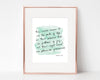 Christian Wall Art | Christian Gifts | Psalm 16:11 | Fullness Of Joy