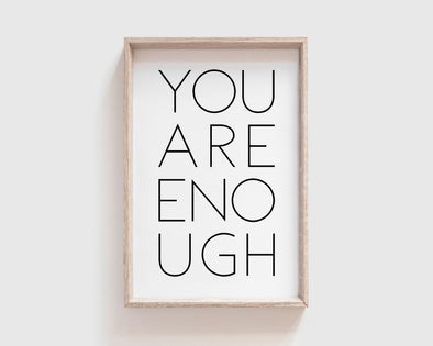 Christian Gifts | Christian Wall Art | You Are Enough | [theme] | [occasion]  | [colour] |