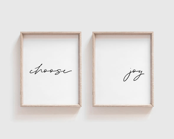 Christian Gifts | Christian Wall Art | Choose Joy | [theme] | [occasion]  | [colour] |