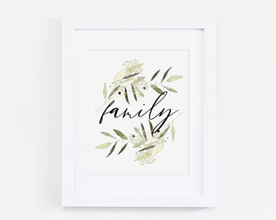 Christian Gifts | Christian Wall Art | Family | [theme] | [occasion]  | [colour] |