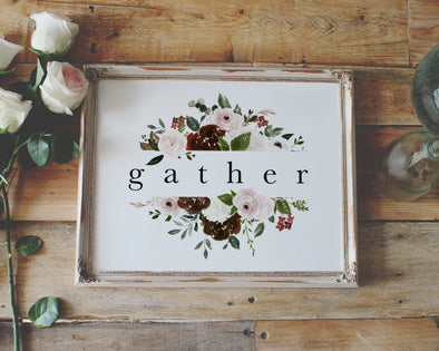 Christian Gifts | Christian Wall Art | Gather | [theme] | [occasion]  | [colour] |