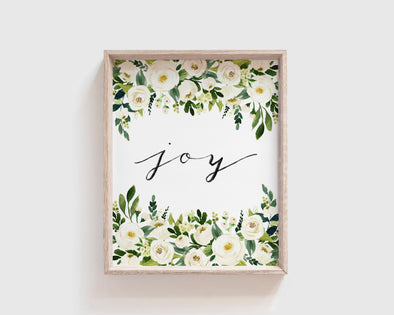 Joy | Christian Printables | Bible Verse Wall Art | Christian Gifts | Scripture Decor | Wondrous Works | Etsy