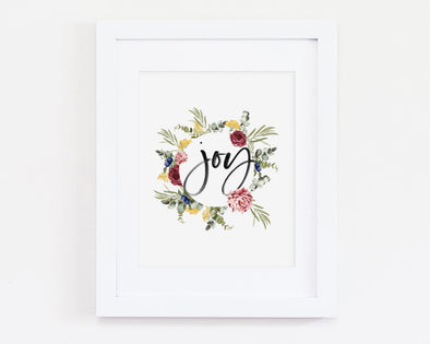 Christian Gifts | Christian Wall Art | Joy | [theme] | [occasion]  | [colour] |