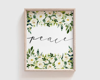 Christian Gifts | Christian Wall Art | Peace | [theme] | [occasion]  | [colour] |