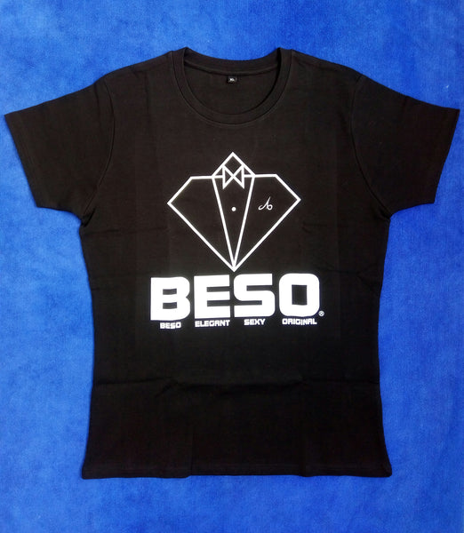 T-shirt B-E-S-O girl black