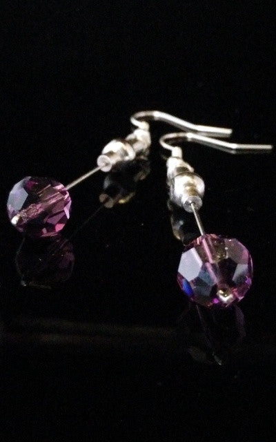 Hypodermic Earrings - Cosmos Purple
