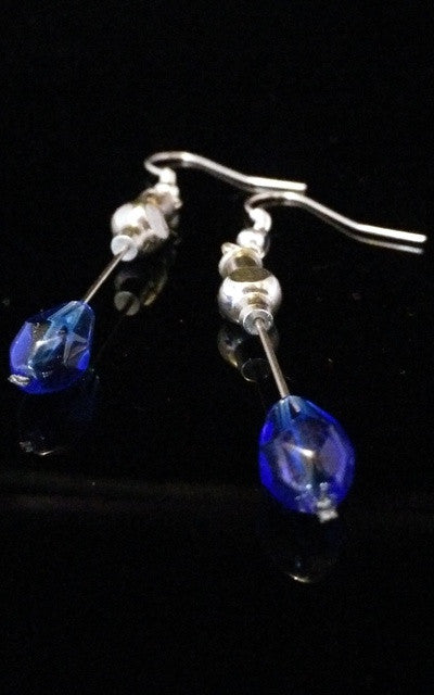 Hypodermic Earrings -  Blue