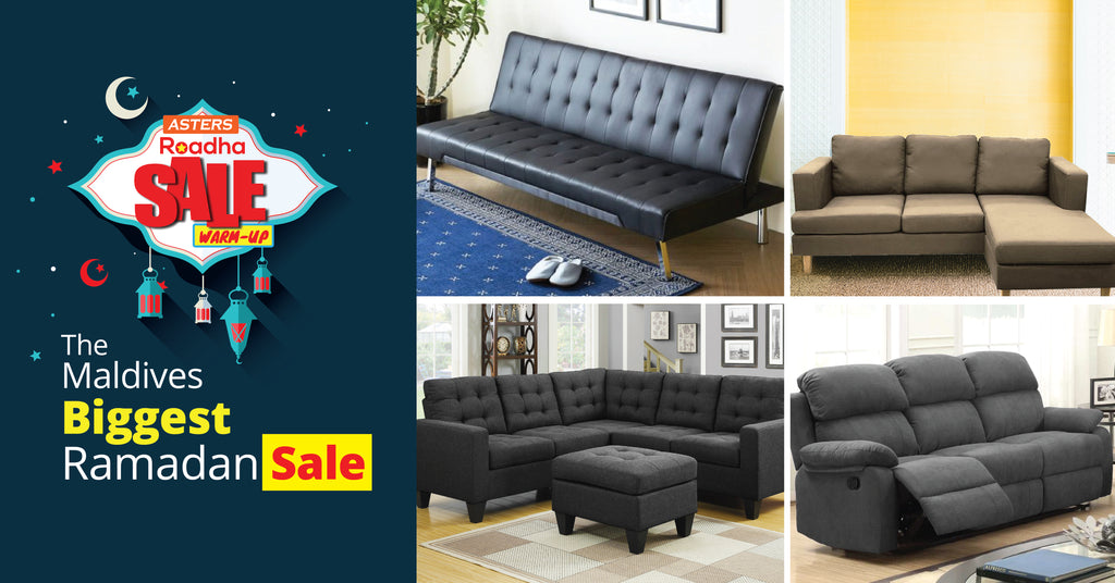 Largest Sofa Sale in Maldives