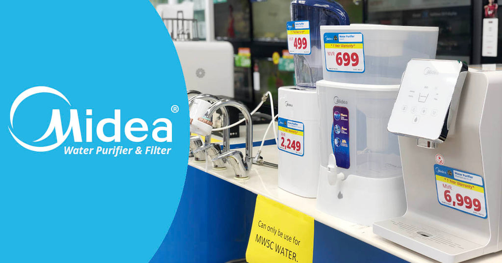 New! Midea Water Purifier & Filter Available at Asters