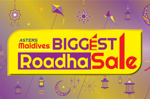 Asters Biggest Roadha Sale in Maldives