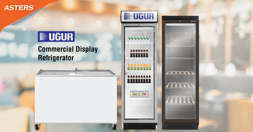 Ugur Commercial Display Refrigerator - Now Available at Asters