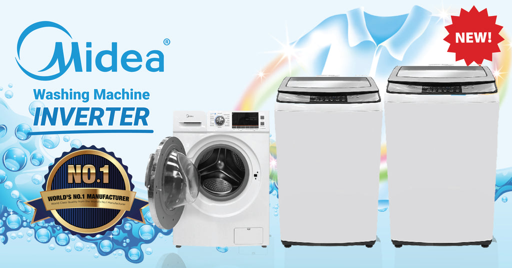 New! Midea Inverter Washing Machines