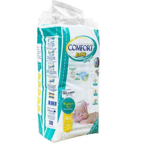 Diaper, 2-5Kg (44 Pcs) - Asters Maldives
