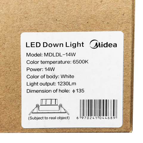 Led Down Light - 14W - Asters Maldives