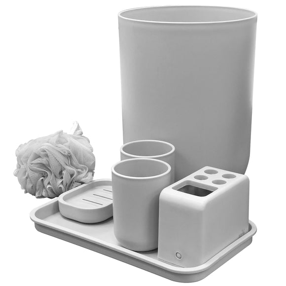 Bathroom Accessory Set (7 Pcs) - Asters Maldives