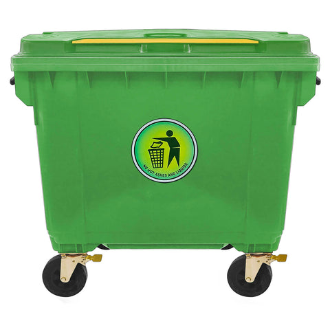 Dustbin - 660 Litre - Asters Maldives
