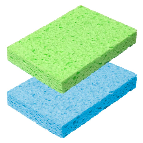 Cellulose Sponge (2 Pcs) - Asters Maldives