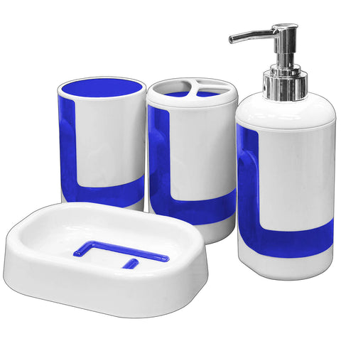 Bathroom Accessory Set (4 Pcs) - Asters Maldives