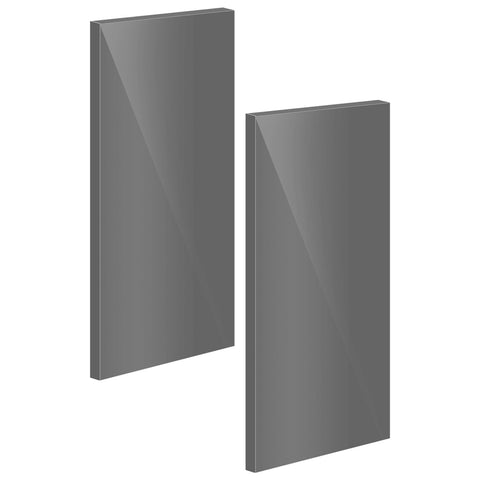 Door For Corner Base Cabinet (UV Gloss), 2 Pcs - Asters Maldives