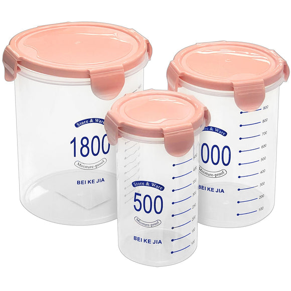 Food Container (3 PCs) - Asters Maldives