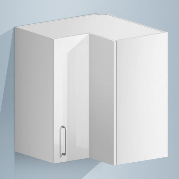 Corner Wall Cabinet (UV Gloss) - Asters Maldives