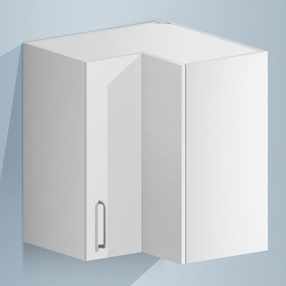 Corner Wall Cabinet (Melamine) - Asters Maldives