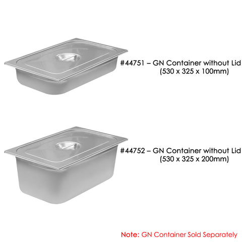 GN 1/1 Container Lid - Asters Maldives