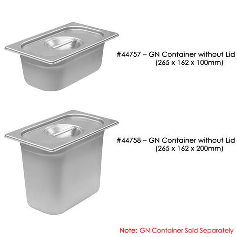 GN 1/4 Container Lid - Asters Maldives