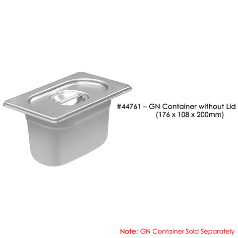 GN 1/9 Container Lid - Asters Maldives