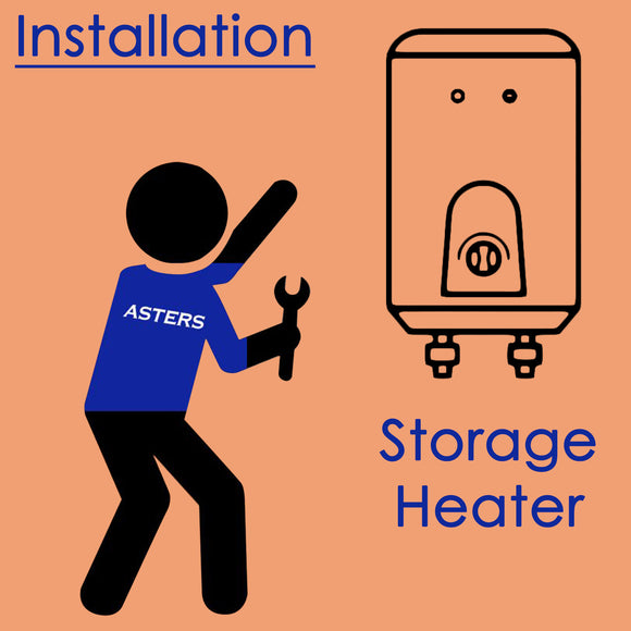 Water Heater Install - Asters Maldives