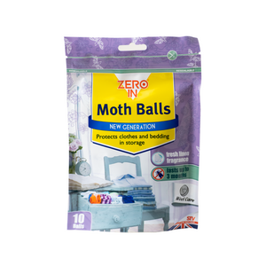 Moth Repellent Balls - Fresh Linen Fragrance