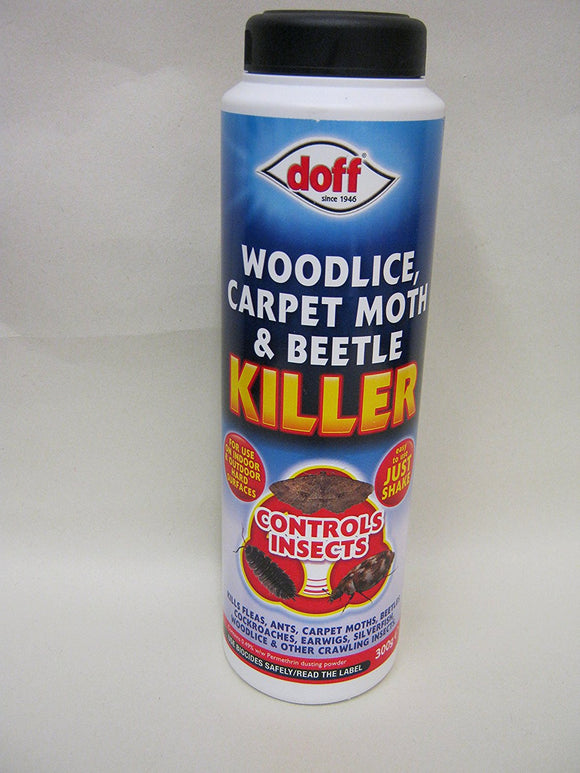 Woodlice, Carpet Moth & beetle Killer 300g