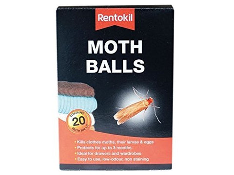 Rentokil Moth Balls  (Pack of 20)