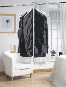 Clear Garment cover- Long (2pk)