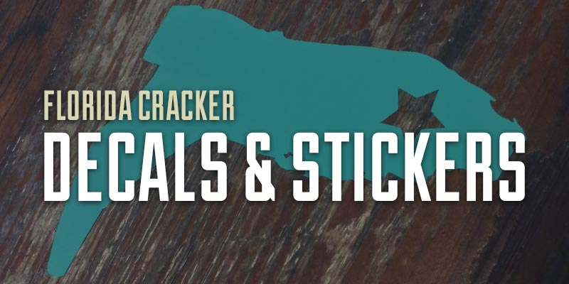 Florida Cracker Decals and Stickers Alt