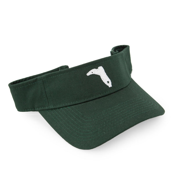 DARK GREEN VISOR