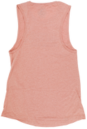 SUNSHINE ORANGES & MIMOSAS- HEATHER SUNSET- LADIES MUSCLE TANK TOP