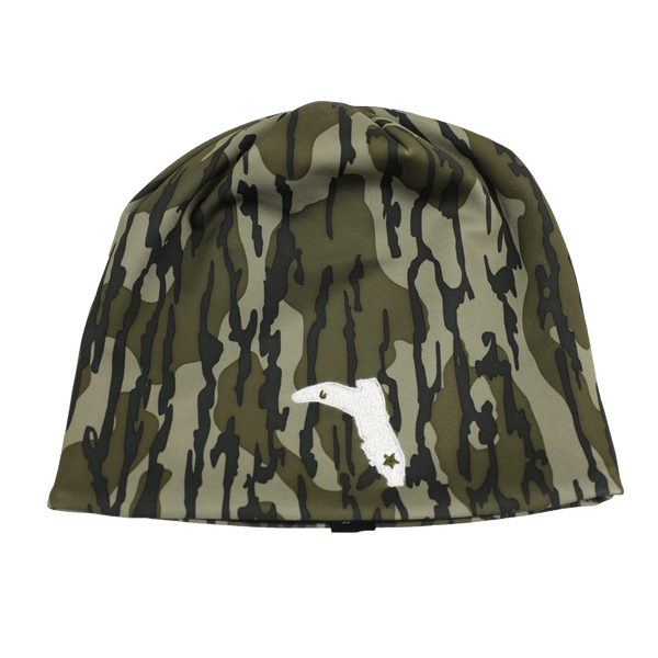 BOTTOMLAND CAMO BEANIE WITH WHITE FC BOOT