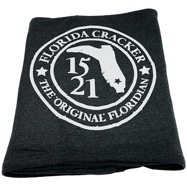 1521 ORIGINAL FLORIDIAN BADGE- CARBON GRAY- BLANKET