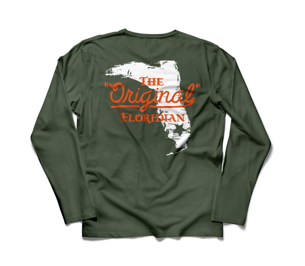 MILITARY GREEN ORIGINAL FLORIDIAN LONG SLEEVE